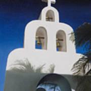 Church At Playa Del Carmen Art Print