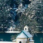 Church By The Achensee Art Print
