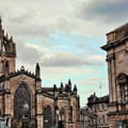 Church Edinburgh II Art Print
