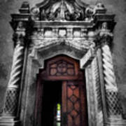 Church Entrance Art Print