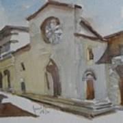 Church Facade Art Print