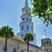 Church In Charleston Art Print