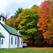 Church In The Wildwood Art Print