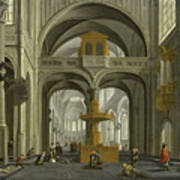 Church Interior Art Print