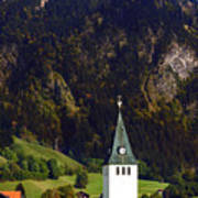 Church Of Bad Oberdorf  Art Print