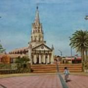Church Of Caldera Art Print