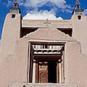 Church Of San Jose De Garcia, Las Art Print