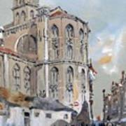 Church Of Santa Maria Art Print