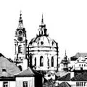 Church Of St Nikolas Art Print
