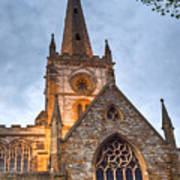 Church Of The Holy Trinity Stratford Upon Avon 2 Art Print