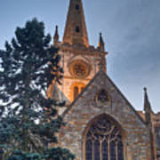 Church Of The Holy Trinity Stratford Upon Avon 4 Art Print