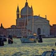 Church Of The Redentore In Venice Print by Michael Henderson