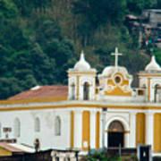 Church Of The Transfiguration Quetzaltenango Guatemala 2 Art Print