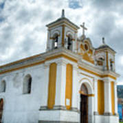 Church Of The Transfiguration Quetzaltenango Guatemala 5 Art Print