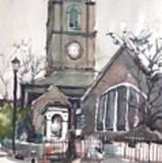 Church On Chelsea Embankment Art Print