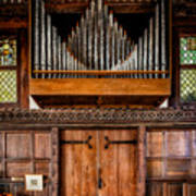 Church Organ Art Print