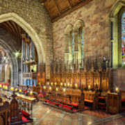 Church Organist Art Print
