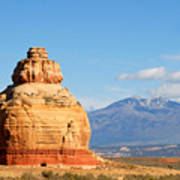 Church Rock Utah Art Print