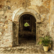 Church Ruins At El Rosario, Sinaloa Art Print