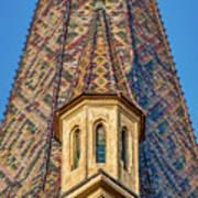 Church Spire Details - Romania Art Print