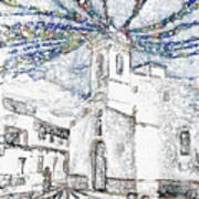 Church Square Art Print