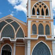 Church Steeple In Ibarra Art Print