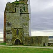 Church Tower - Remains Of St Helens Church Art Print