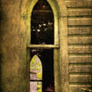 Church Window Church Bell Art Print