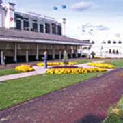 Churchill Downs Paddock Area Art Print
