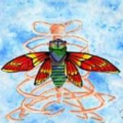 Cicada Cage Art Print