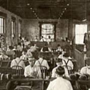 Cigar Factory, 1909 Art Print