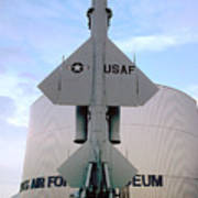 Cim-10a Bomarc Missile At The Air Force Museum Dayton Ohio Art Print