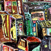 Cin City 2 Art Print