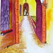 Cinca Terra Passage Art Print