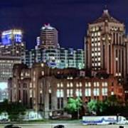 Cinci From The Opposite Side Art Print