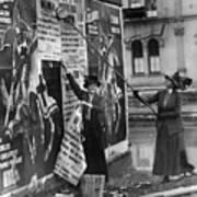 Cincinnati: Suffragettes Art Print