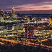 Cincinnati Sunrise Art Print