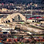 Cincinnati Union Terminal Art Print