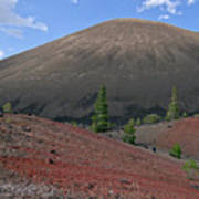 Cinder Cone And Painted Sands Art Print
