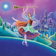Cinderella Art Print by Anne Wertheim