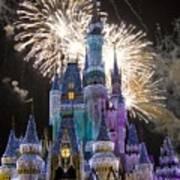 Cinderella Castle Spectacular Art Print