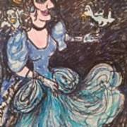Cinderella Art Print