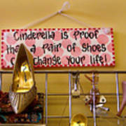 Cinderella Is Proof Art Print