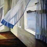 Cindy's Window Art Print