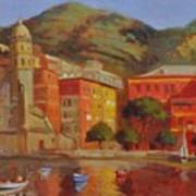 Cinqua Terra Italian Fishing Village Art Print