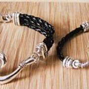 Circle Hook Bracelet Art Print