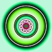 Circle Motif 229 Art Print