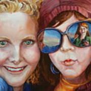 Circle of Sisters Art Print