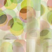 Circle Pattern Overlay II Art Print