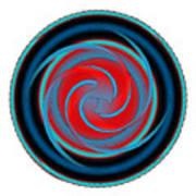 Circle Study No. 320 Art Print